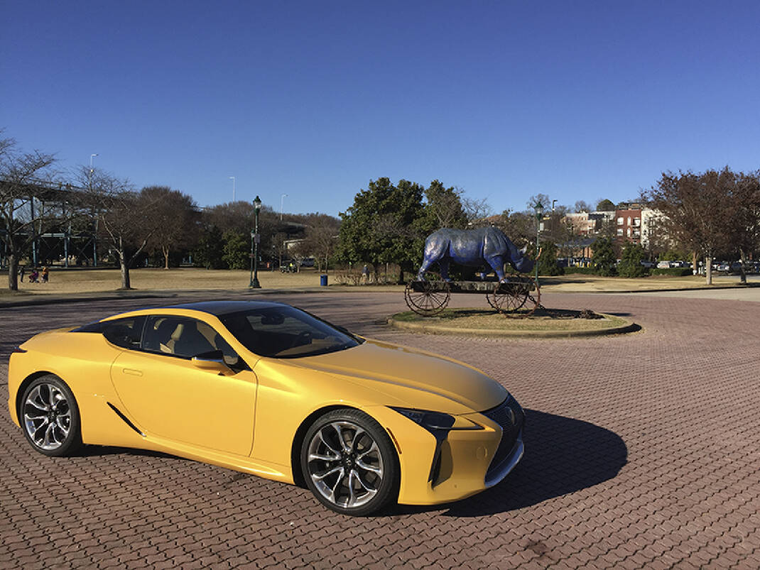 First Drive: The 2018 Lexus LC 500 Doesn't Want To Be The Perfect ...   803x1070