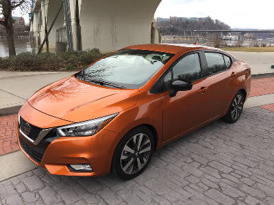Test Drive Third Generation 2020 Nissan Versa Sr Stacks Features For Modest Money Chattanooga Times Free Press