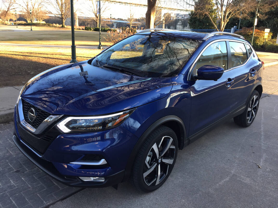 Test Drive 2020 Nissan Rogue Sport Gets A Facelift Chattanooga Times Free Press