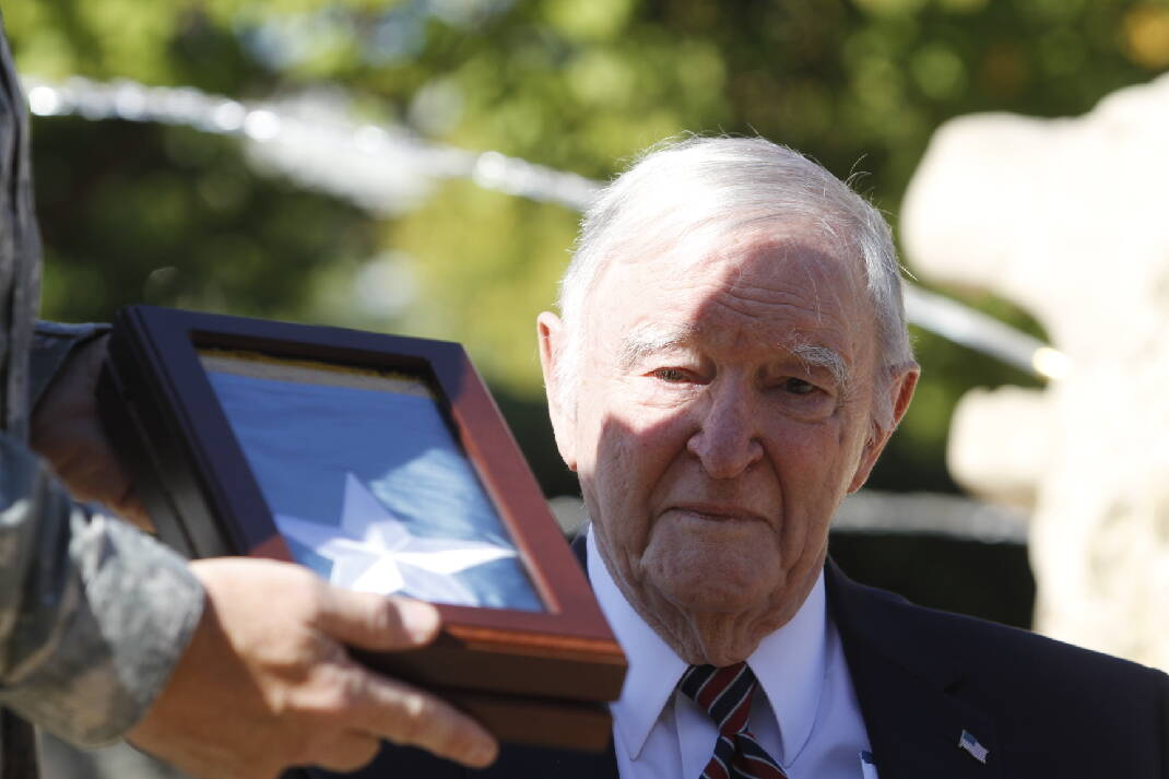 Chattanooga's Charles H. Coolidge, one of two oldest living Medal of Honor recipients, measures his own worth by the lives he's touched