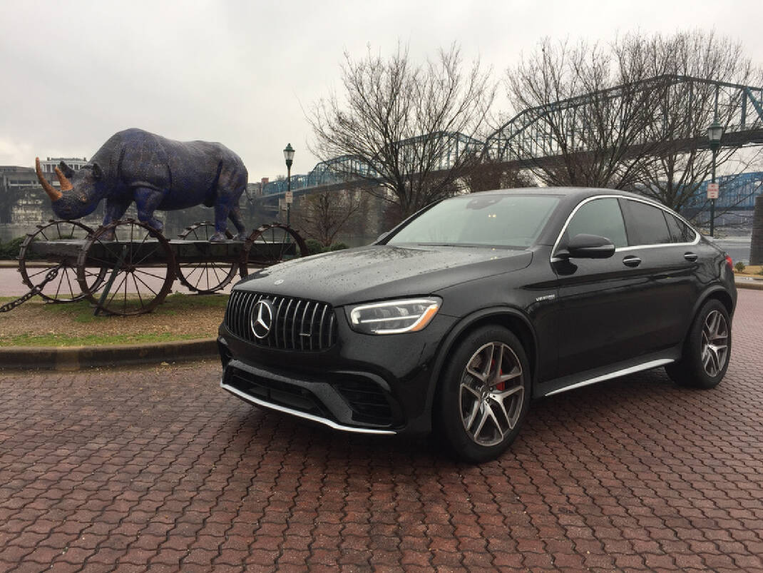 Test Drive 2020 Mercedes Benz Amg Glc 63 S Coupe Feels Like A Spaceship On Wheels Chattanooga Times Free Press