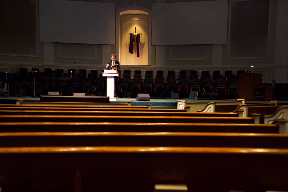 Church and COVID-19: Livestreams, empty pews and the few ...