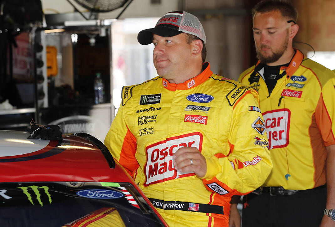 Auto Racing Notebook Ryan Newman Says He S Ready To Go When Nascar Returns To Track Chattanooga Times Free Press
