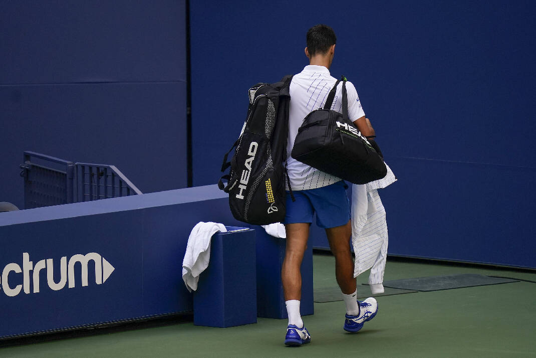 Novak Djokovic Out Of U S Open After Hitting Line Judge With Tennis Ball Chattanooga Times Free Press
