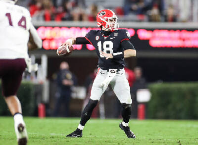 Paschall Georgia Discovers Explosive Offense With Jt Daniels At The Controls Chattanooga Times Free Press Descriptionelmore smith and wilt chamberlain.jpeg. jt daniels