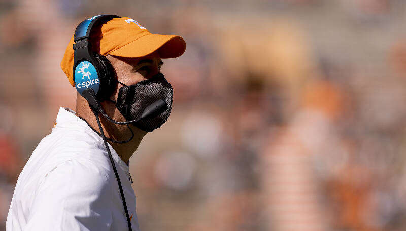 Jeremy Pruitt's turbulent timeline as Tennessee's football ...