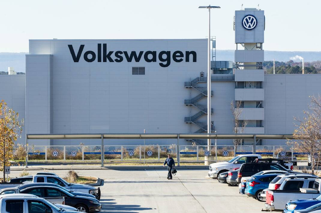 Volkswagen Chattanooga suspending assembly for 2nd time due to semiconductor shortage