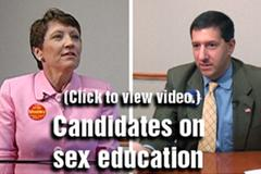 Video: Teaching sex education in  schools