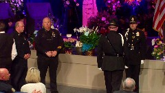 Hundreds gather for Sgt. Chapin's visitation