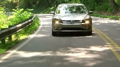 Test driving the new VW Passat