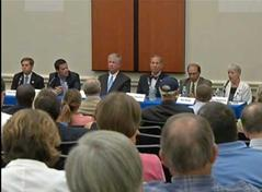 Candidates address health care