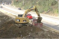 Highway 27 construction