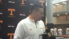Coach Butch Jones on Spring Football